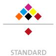 Mappen mit  6 Druckfarben bedruckt (CMYK +  2 x HKS / Pantone) Rückseite  1 Sonderfarbe Sonderfarbe der Rückseite wird auch auf Vorderseite verwendet min. 5 Werktage Standard-Produktionszeit Stanzform 36080-A-(0)-47.0 Flügelmappen-Füllhöhe: 0mm  Mappen stanzen, falten & kleben Schnellheftmechaniken einkleben