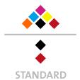 Mappen mit  6 Druckfarben bedruckt (CMYK +  2 x HKS / Pantone) Rückseite Schwarz und  1 Sonderfarbe Sonderfarbe der Rückseite wird auch auf Vorderseite verwendet min. 5 Werktage Standard-Produktionszeit Stanzform 36080-A-(0)-47.0 Flügelmappen-Füllhöhe: 0mm  Mappen stanzen, falten & kleben Schnellheftmechaniken einkleben