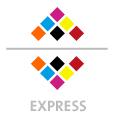 Mappen mit  6 Druckfarben bedruckt (CMYK +  2 x HKS / Pantone) min. 3 Werktage Express-Produktionszeit Stanzform 36080-A-(0)-47.0 Flügelmappen-Füllhöhe: 0mm  Mappen stanzen, falten & kleben Schnellheftmechaniken einkleben