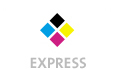 Briefpapiere mit  4 Druckfarben bedruckt (CMYK) min. 3 Werktage Express-Produktionszeit  A4 (210x297mm) Briefpapiere einseitig bedruckt Formatschnitt